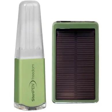 SteriPEN Freedom Bundle, steripen solar charger