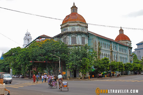 yangon city architecture