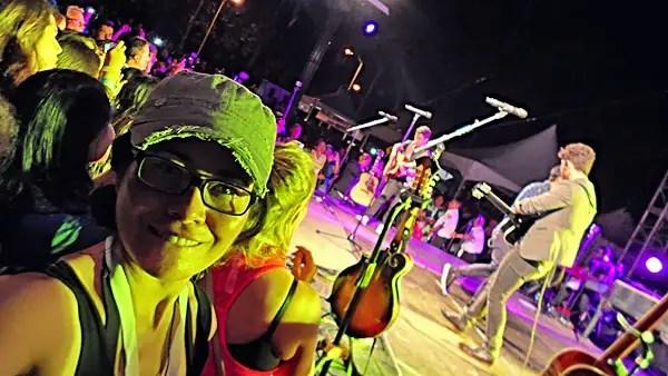camera operator, jonas brothers concert