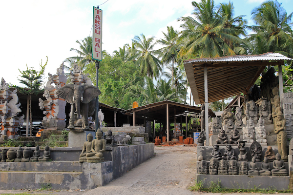 bali stone carving, Bali crafts