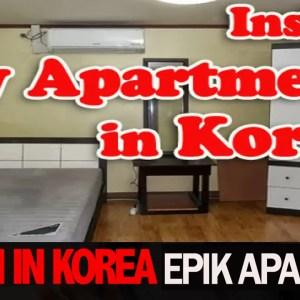 korean apartment tour, teach in korea, epik apartment korea