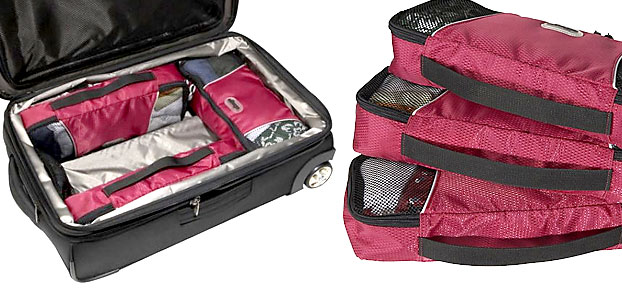 eBags Slim Packing Cubes, packing cubes for travel, travel packing cubes, ebags packing cubes
