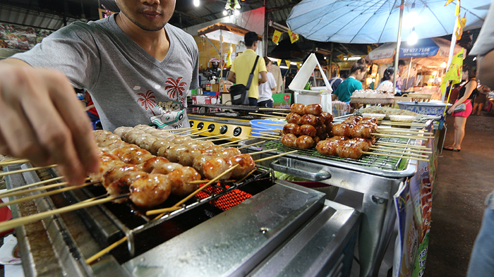Khlongsan Marketplace, Khlongsan Plaza, khlongsan food hawkers, food hawkers in bangkok
