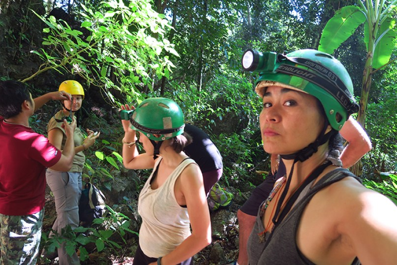 caving in soppong, cave lodge soppong, pang mapha thailand