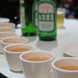 taiwanese beer and tea
