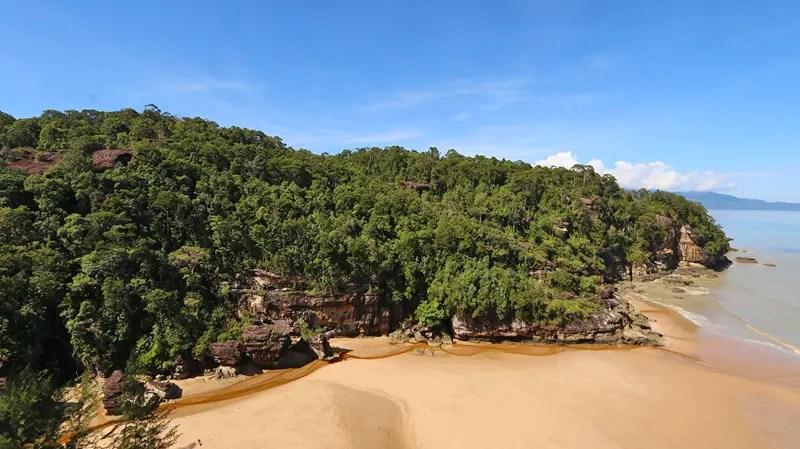 mangroves, hiking at bako, bako national park, hiking trails borneo, bako national park beach