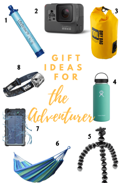The Ultimate Gift Guide for Travelers, Gift Ideas for Travelers, Stocking Stuffer Ideas Under $25, gift ideas for adventure travelers, Gift ideas for adventurous travelers