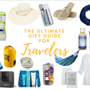 Ultimate Gift Guide for Travelers Cover