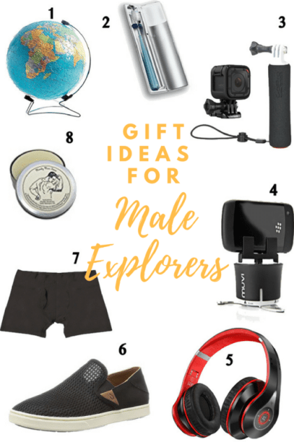 The Ultimate Gift Guide for Travelers, Gift Ideas for Male Travelers