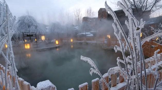 Shennong Zhuangyuan Hot Spring Resort, hotsprings changyi