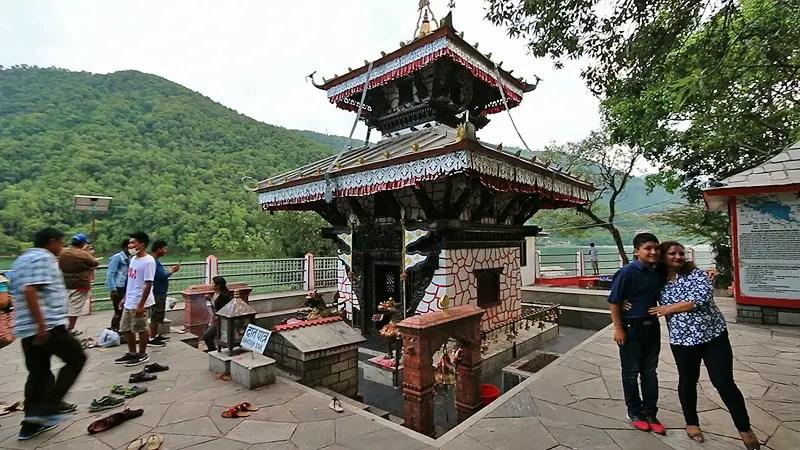 tal barahi, lake temple pokhara