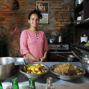 Haluwa nepali, nepal foods, nepali comfort food, haluwa food