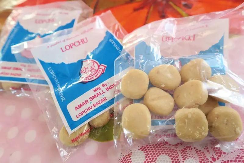 Lopchu sweets Sikkim