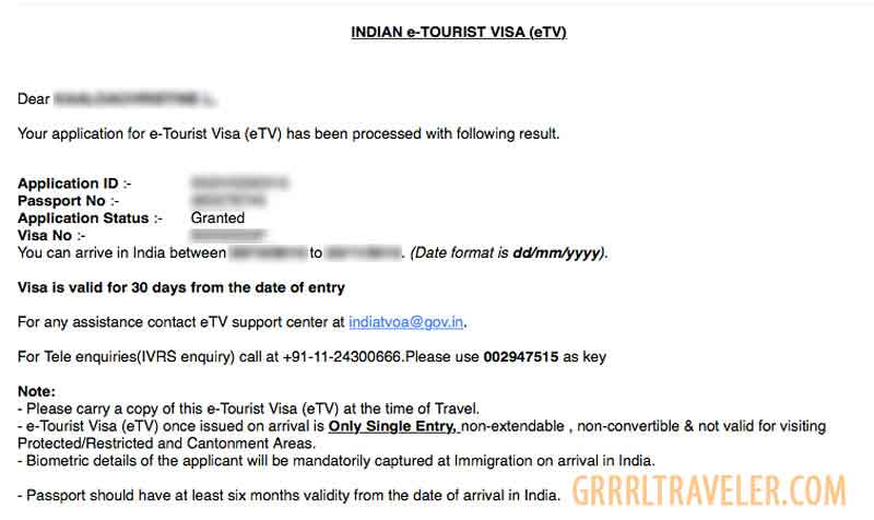Indian tourist evisa online, how to apply for an india visa