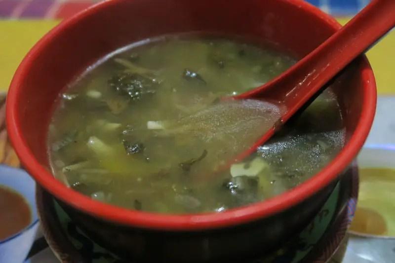 Foods of Sikkim, Gundruk Soup, Gundruk Soup sikkim