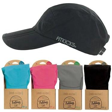 fit kicks folding cap, best travel gift list