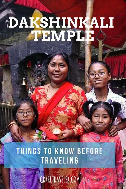 Dakshinkali Temple | Pin to Pinterest
