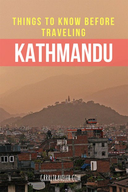 Things to Know Kathmandu | Pin to Pinterest