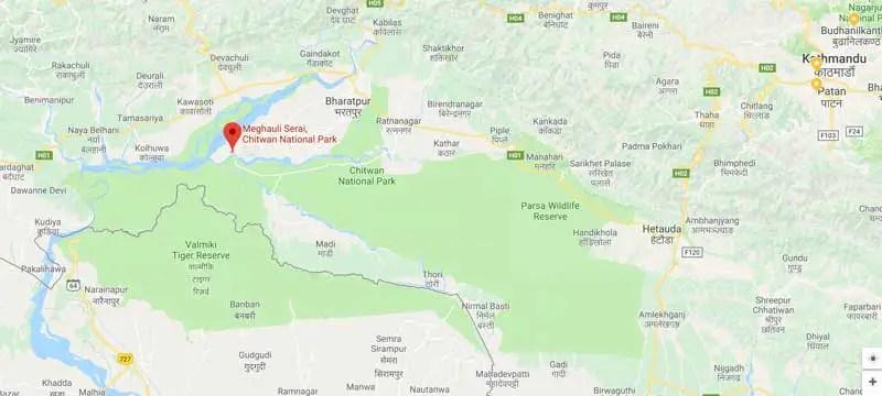 Meghauli Serai, Taj Safaris, Chitwan National Park