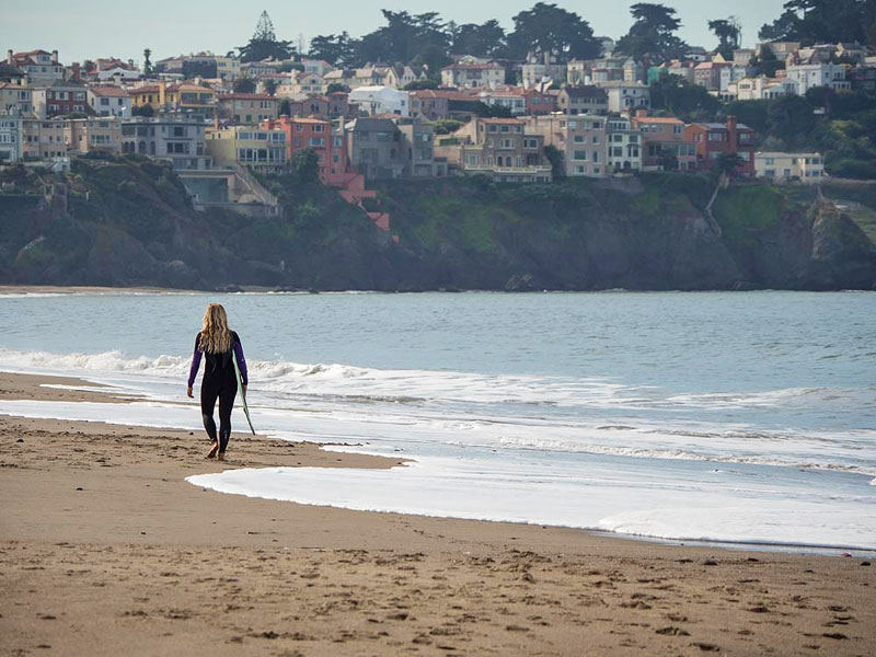 Things to Know Before Traveling San Francisco: Walking to the Golden Gate, Crissy Beach