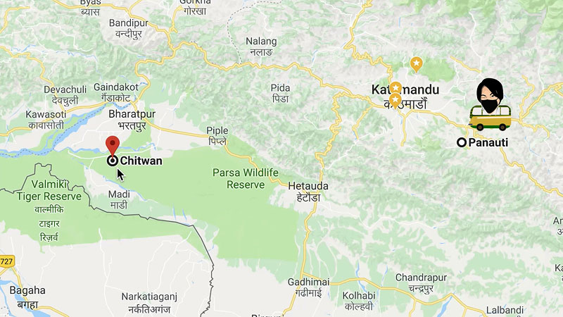getting from kathmandu to chitwan