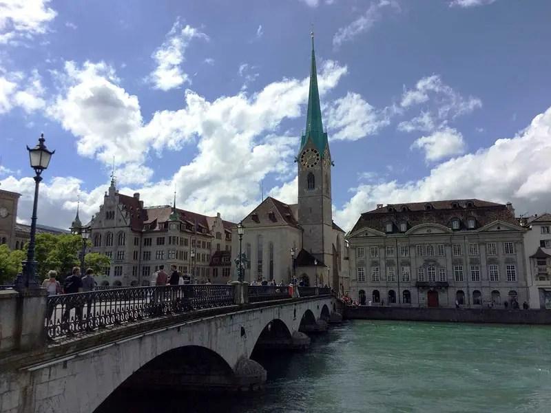 Zurich Old Town Bridge, 48 Hour in Zurich, best things to do zurich, what to do zurich, Zurich Travel Guide