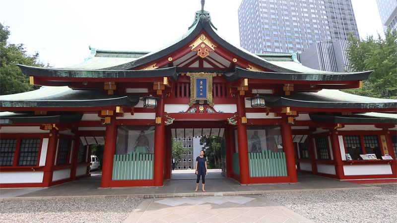 Hie Temple Tokyo, best instagrammable places in tokyo