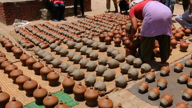 dattatreya square pottery, bhaktapur pottery square