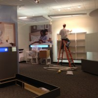 Mattress Retail Store in Frisco Mall - Post Construction Cleaning and Cleanup in Texas