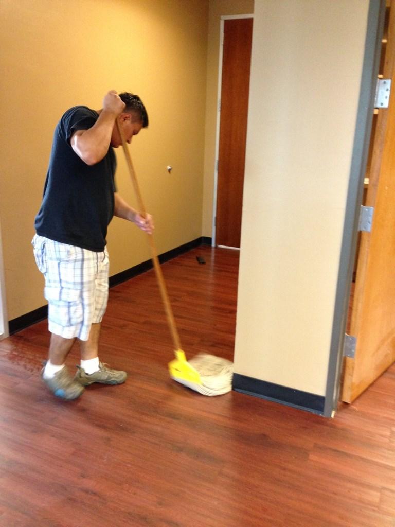 Waxing and Polishing Floors in Irving, Texas