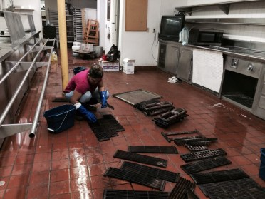 Sterling Hotel Kitchen and Floors Heavy Duty Deep Cleaning Service ...