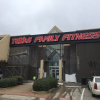 Texas Family Fitness in Plano, TX Post-Construction Cleaning Phase 1