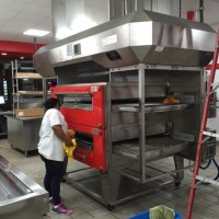 Pizza Restaurant Final Post Construction Cleaning in Dallas, TX