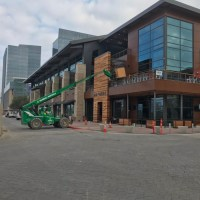 Haywire Restaurant Rough Post Construction Cleaning in Plano, TX