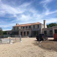 Mansion Exterior Windows Post Construction Cleaning in Highland Park, TX