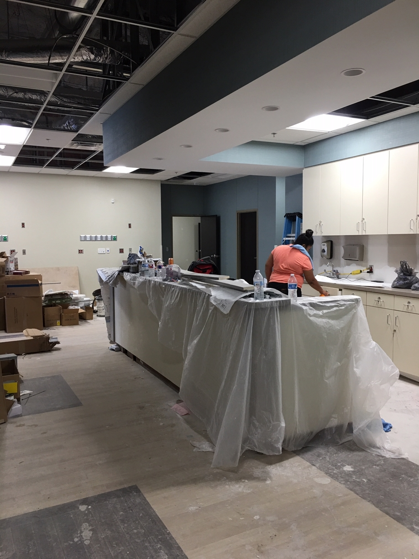 Surgery Center Rough Post Construction Clean Up in Dallas TX 005 Surgery Center Rough Post Construction Clean Up in Dallas, TX