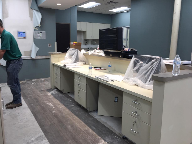 Surgery Center Rough Post Construction Clean Up in Dallas TX 014 Surgery Center Rough Post Construction Clean Up in Dallas, TX