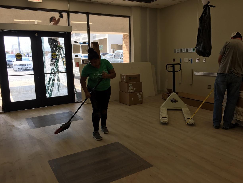 Surgery Center Rough Post Construction Clean Up in Dallas TX 015 Surgery Center Rough Post Construction Clean Up in Dallas, TX