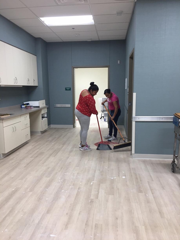 Surgery Center Rough Post Construction Clean Up in Dallas TX 020 Surgery Center Rough Post Construction Clean Up in Dallas, TX
