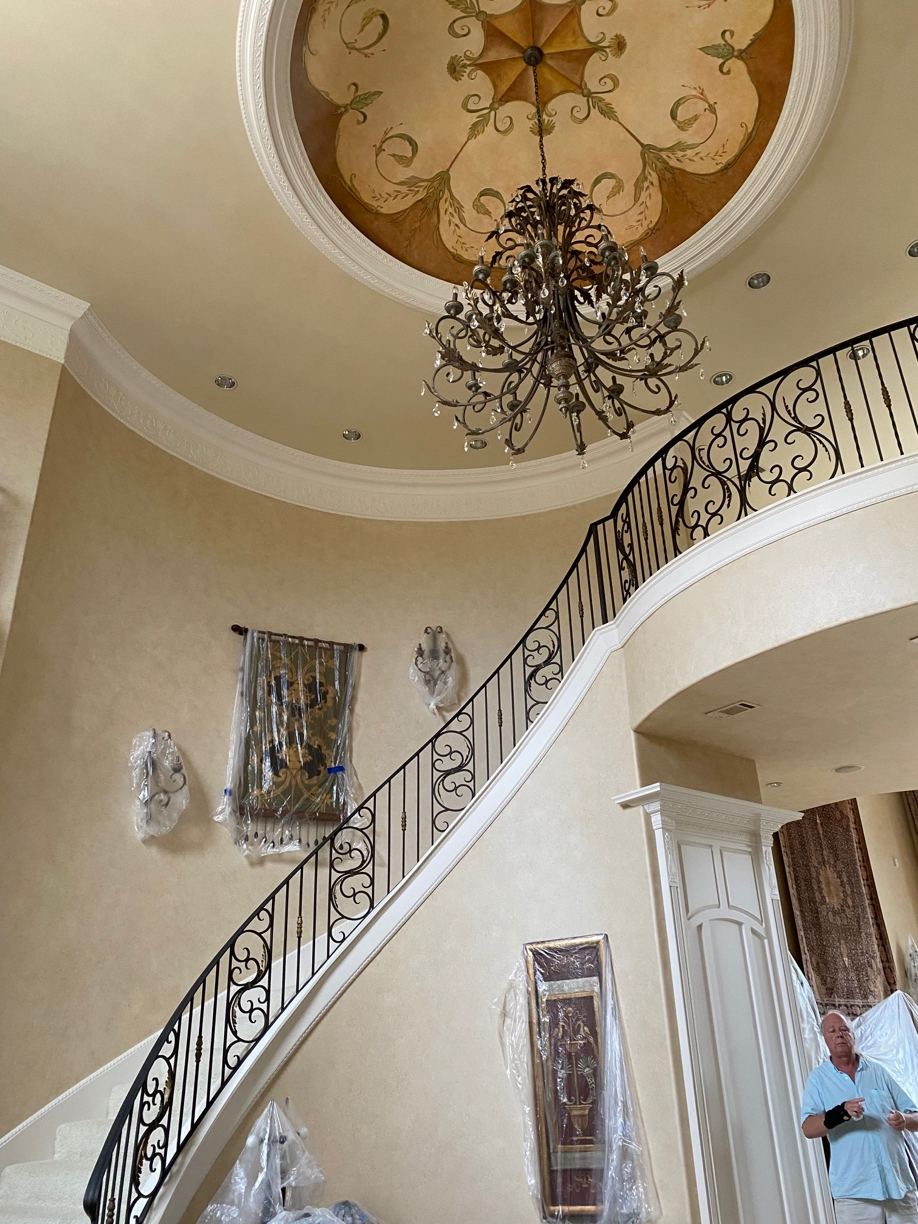 %name Large Mansion Post Construction Cleaning Service in Flower Mound, TX