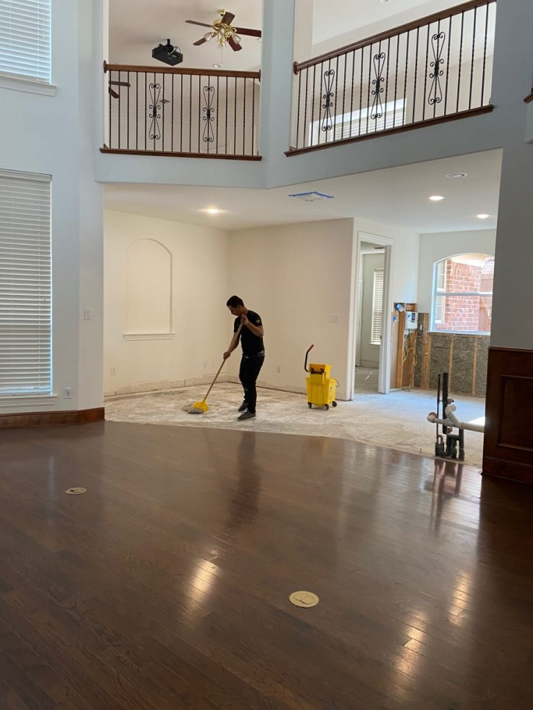 %name House Post Construction Clean Up in Frisco, TX