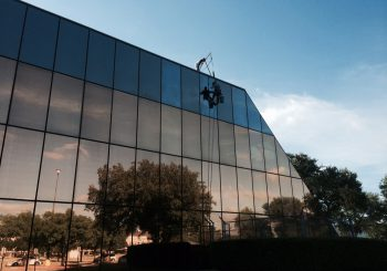 Phase 1 450000 sf. Exterior Windows Cleaning in Dallas TX 06 b3c60ee3e70f6d7972f74123815ef455 350x245 100 crop Glass Building 450,000+ sf. Exterior Windows Cleaning Phase 1 in Dallas, TX