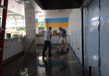 Rusty Tacos Restaurant Stripping and Sealing Floors Post Construction Clean Up in Dallas Texas 30 29259ef36db17ab957344a6fca067592 350x245 100 crop Restaurant Chain Strip & Seal Floors Post Construction Clean Up in Dallas, TX