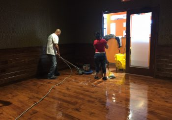 Tupinamba Café Restaurant Stripping Sealing the Floor after our Construction Cleaning 007 d94543819b530461168e09d08a320611 350x245 100 crop Tupinamba Café Restaurant Stripping, Sealing the Floor after our Construction Cleaning