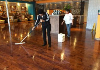Tupinamba Café Restaurant Stripping Sealing the Floor after our Construction Cleaning 008 f5adffcad7bd66e26bc19559d6714a80 350x245 100 crop Tupinamba Café Restaurant Stripping, Sealing the Floor after our Construction Cleaning