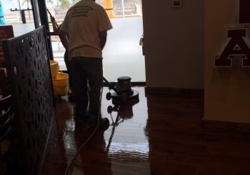 Tupinamba Café Restaurant Stripping Sealing the Floor after our Construction Cleaning 010 ba211df10659cf5c536af34c64e2de80 350x245 100 crop Tupinamba Café Restaurant Stripping, Sealing the Floor after our Construction Cleaning
