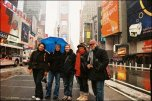 Us in the snow in NYC