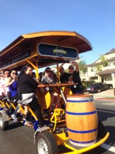Social Cycle SD on a tour