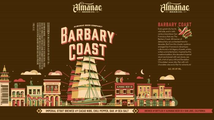 Almanac Barbary Coast Imperial Stout