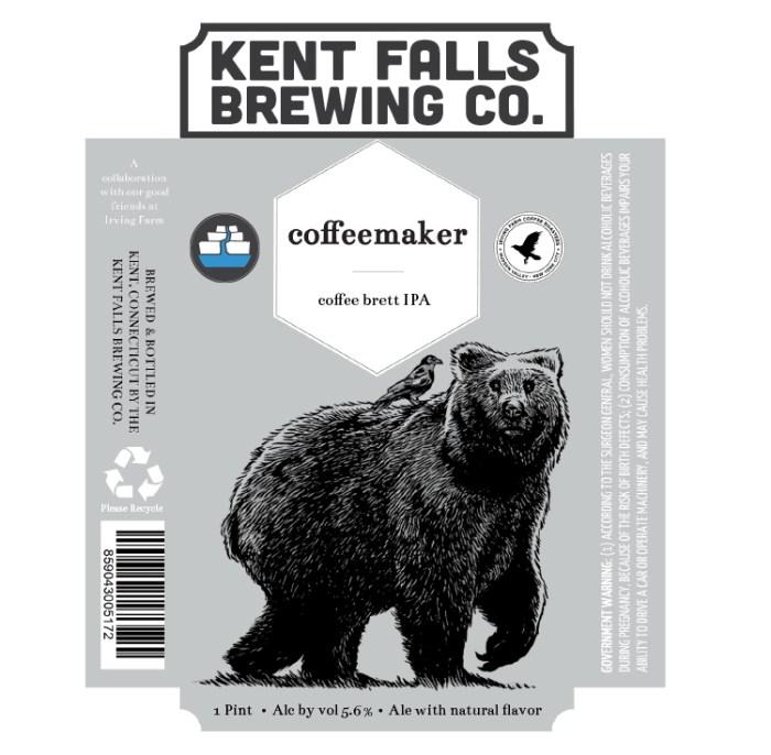 Kent Falls coffeemaker Coffee Brett IPA